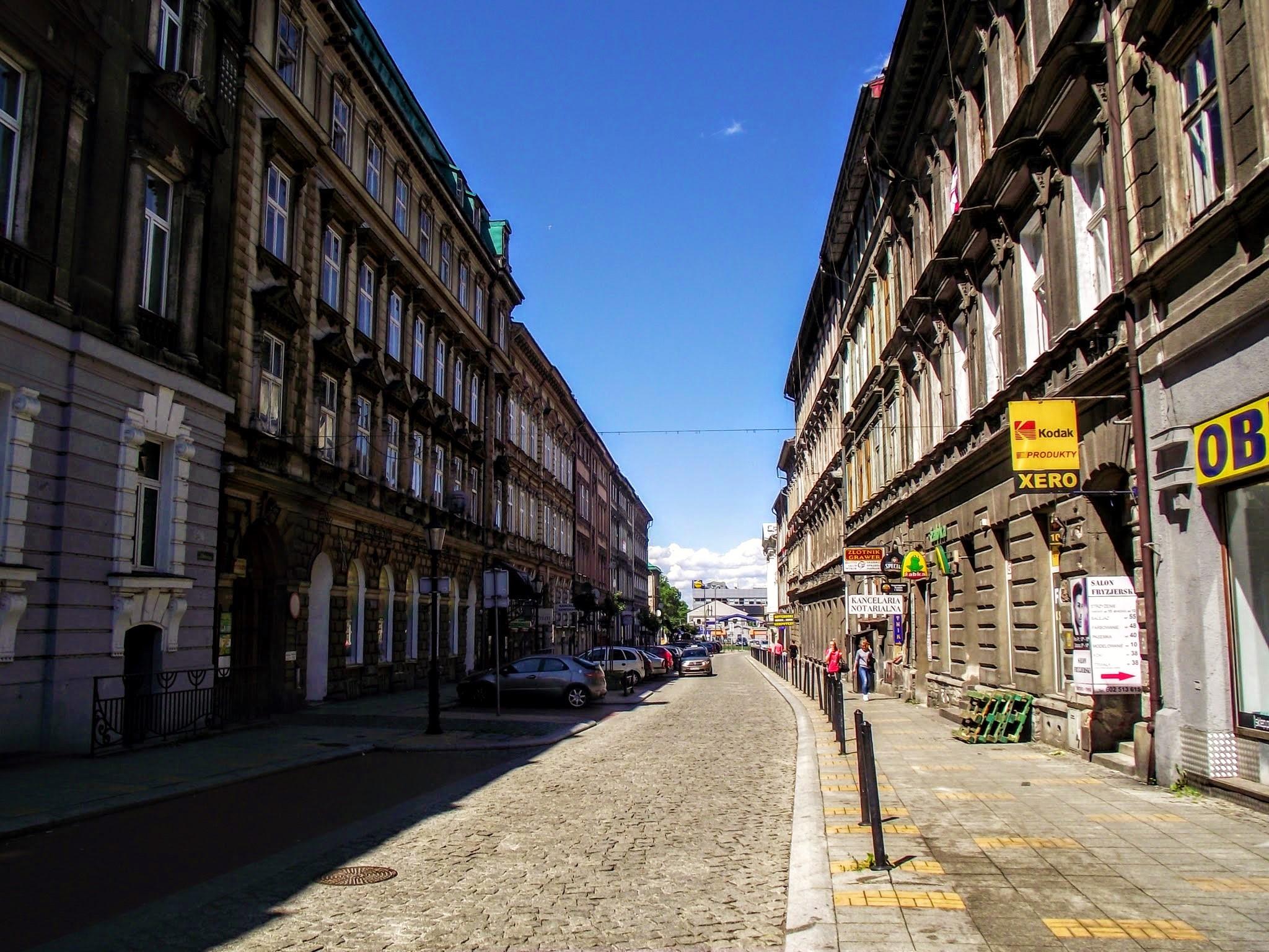 Ulica Norberta Barlickiego w Bielsku-Białej