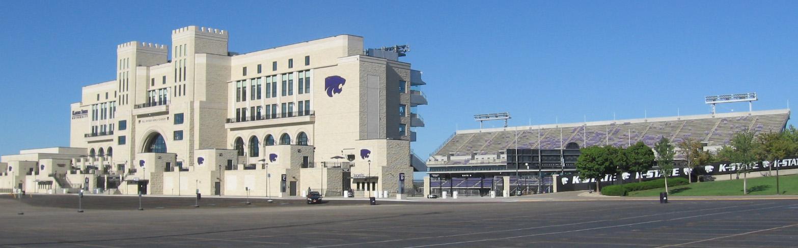 Football Stadium at Kansas