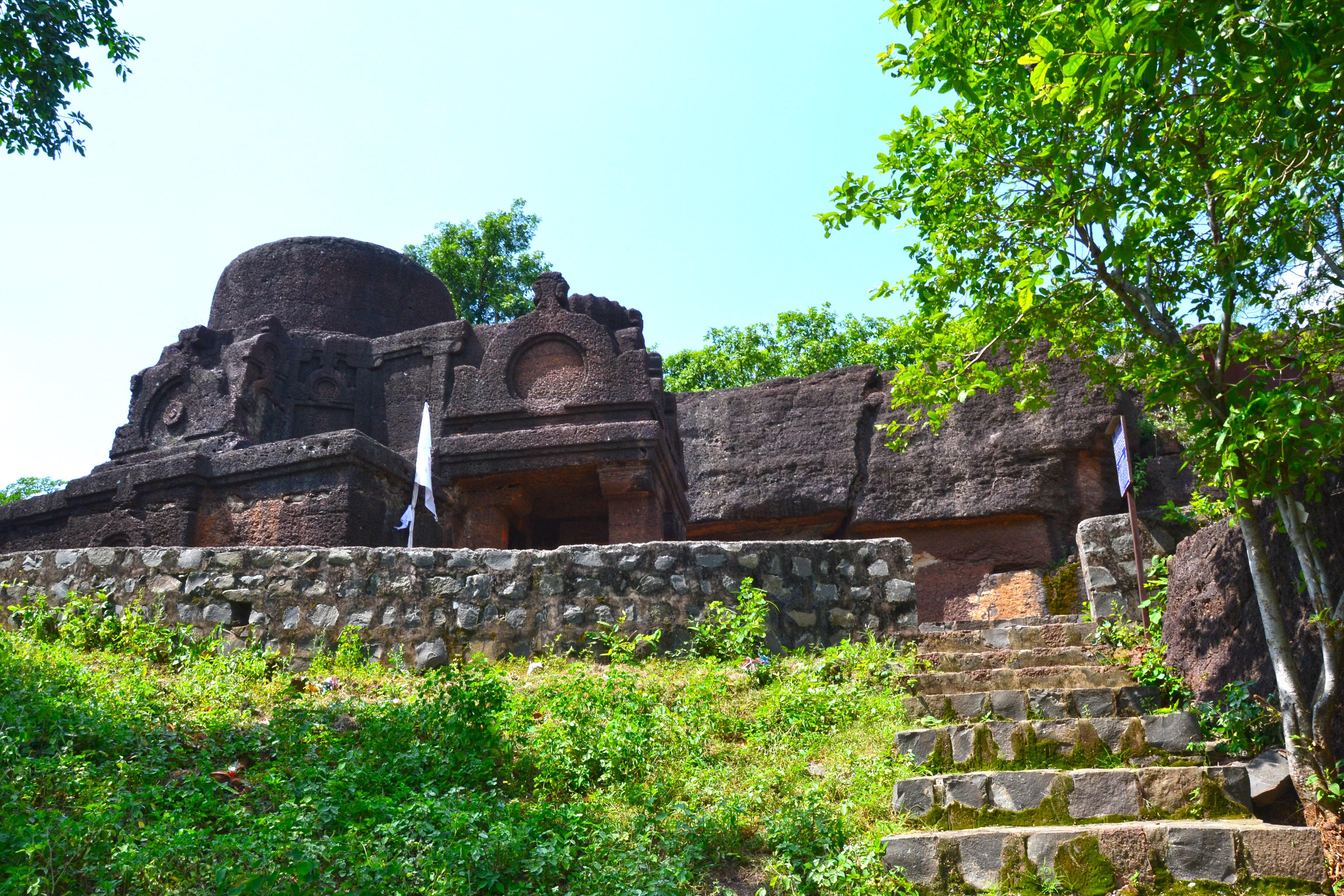 A buddhist stupa in Jhalawar best places to visit near Kota