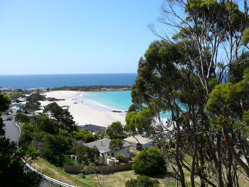 Boat harbour beach from lookout