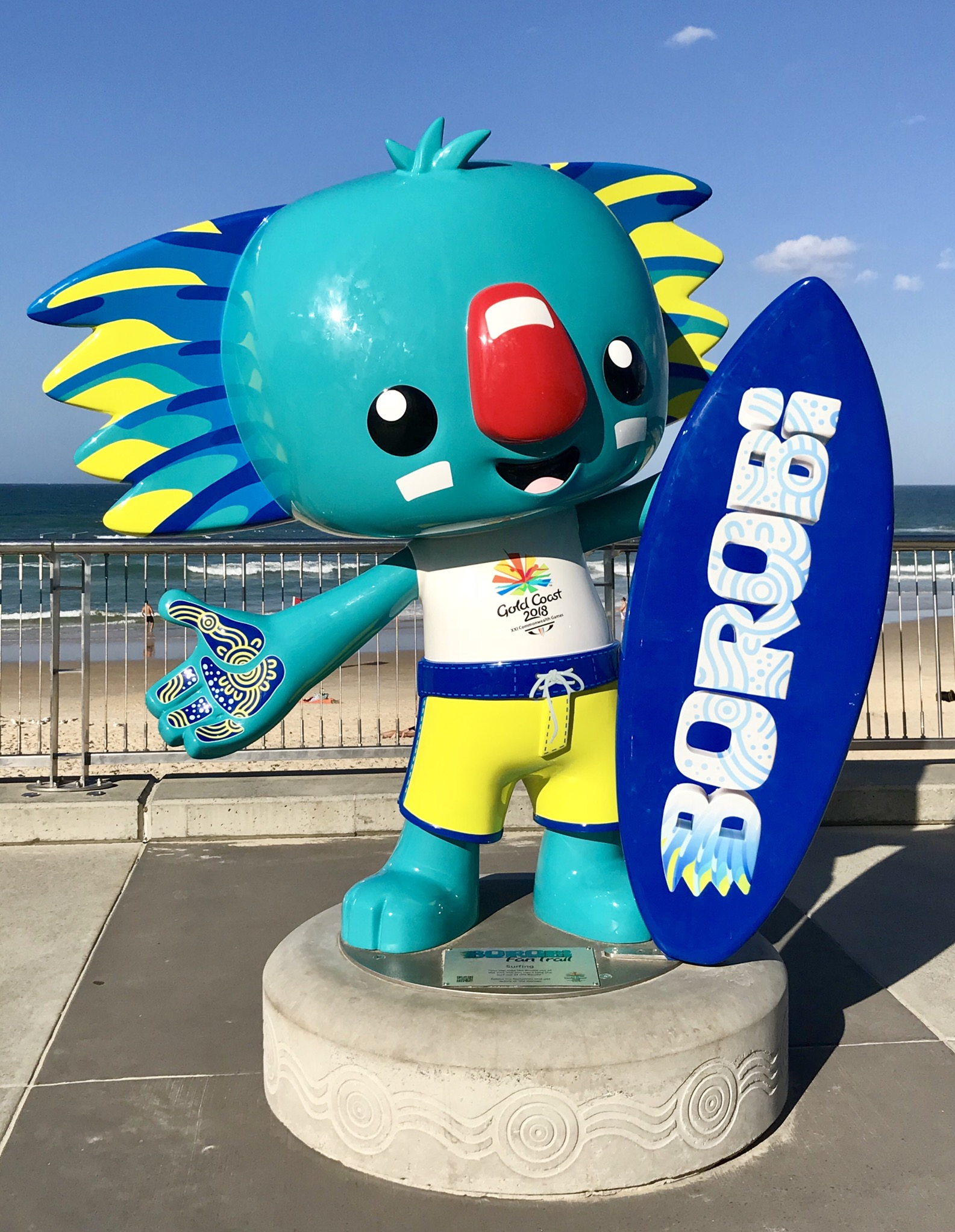 Commonwealth games 2018 mascot pictures