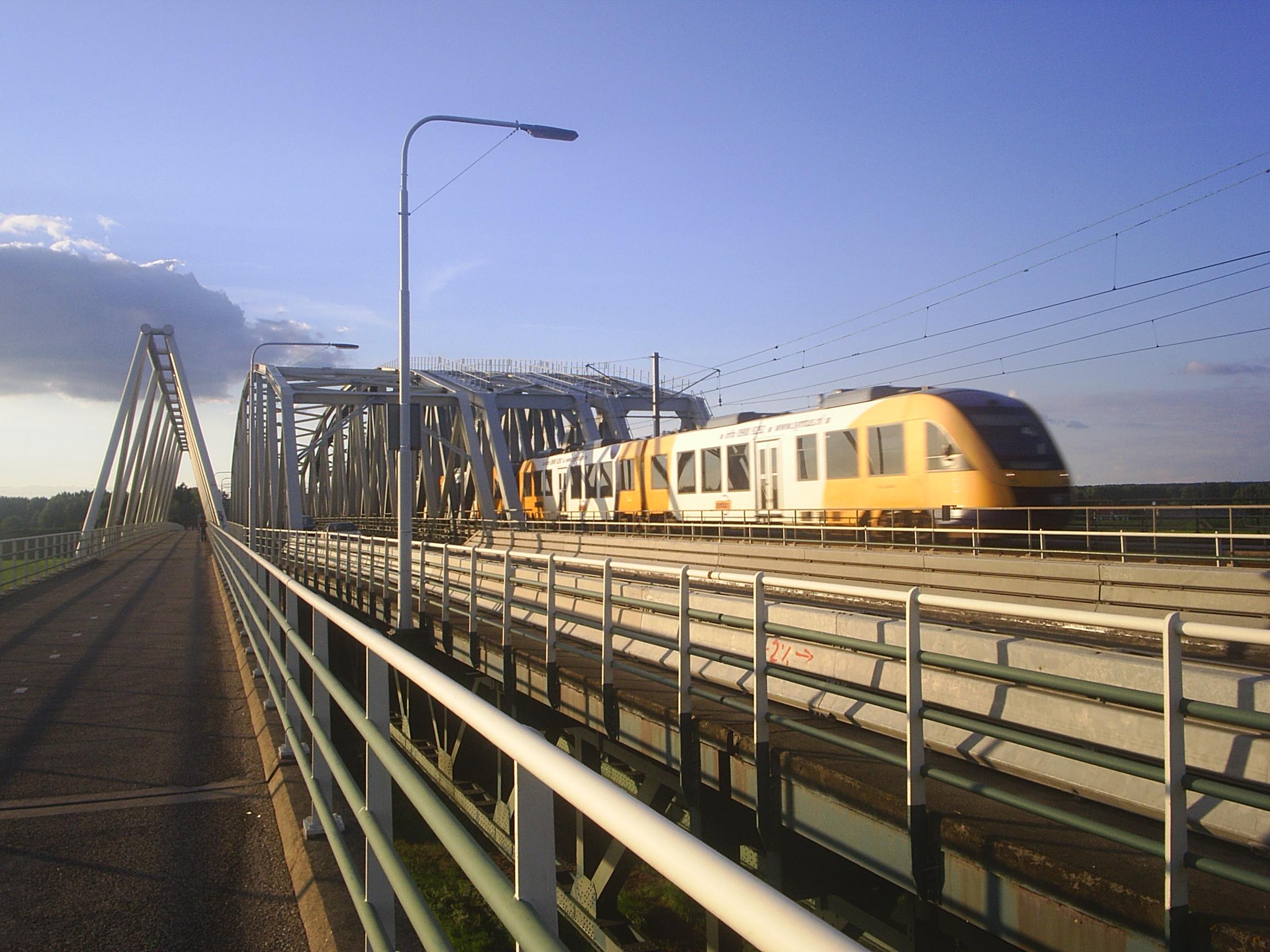 Brücke bei Westervoort