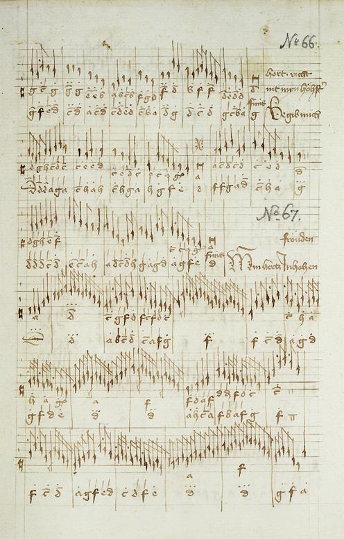 organ tablature