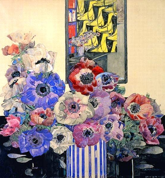 File:Charles Rennie Mackintosh - Still Life Of Anemones.jpg