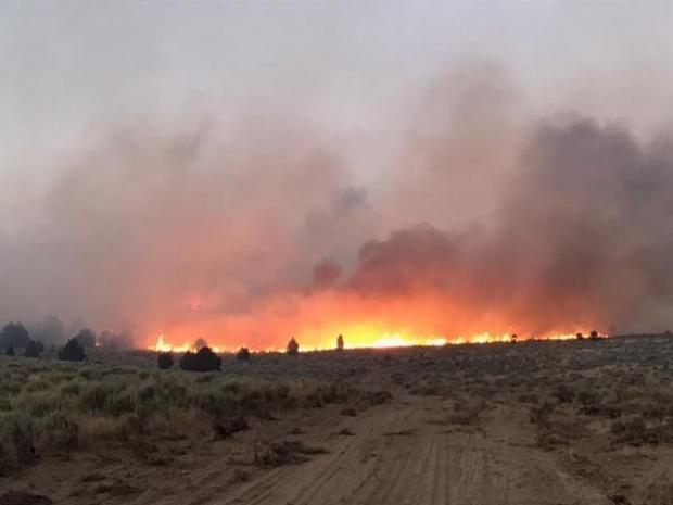 Cinder Butte Fire, Oregon, 5 Aug 2017.jpg