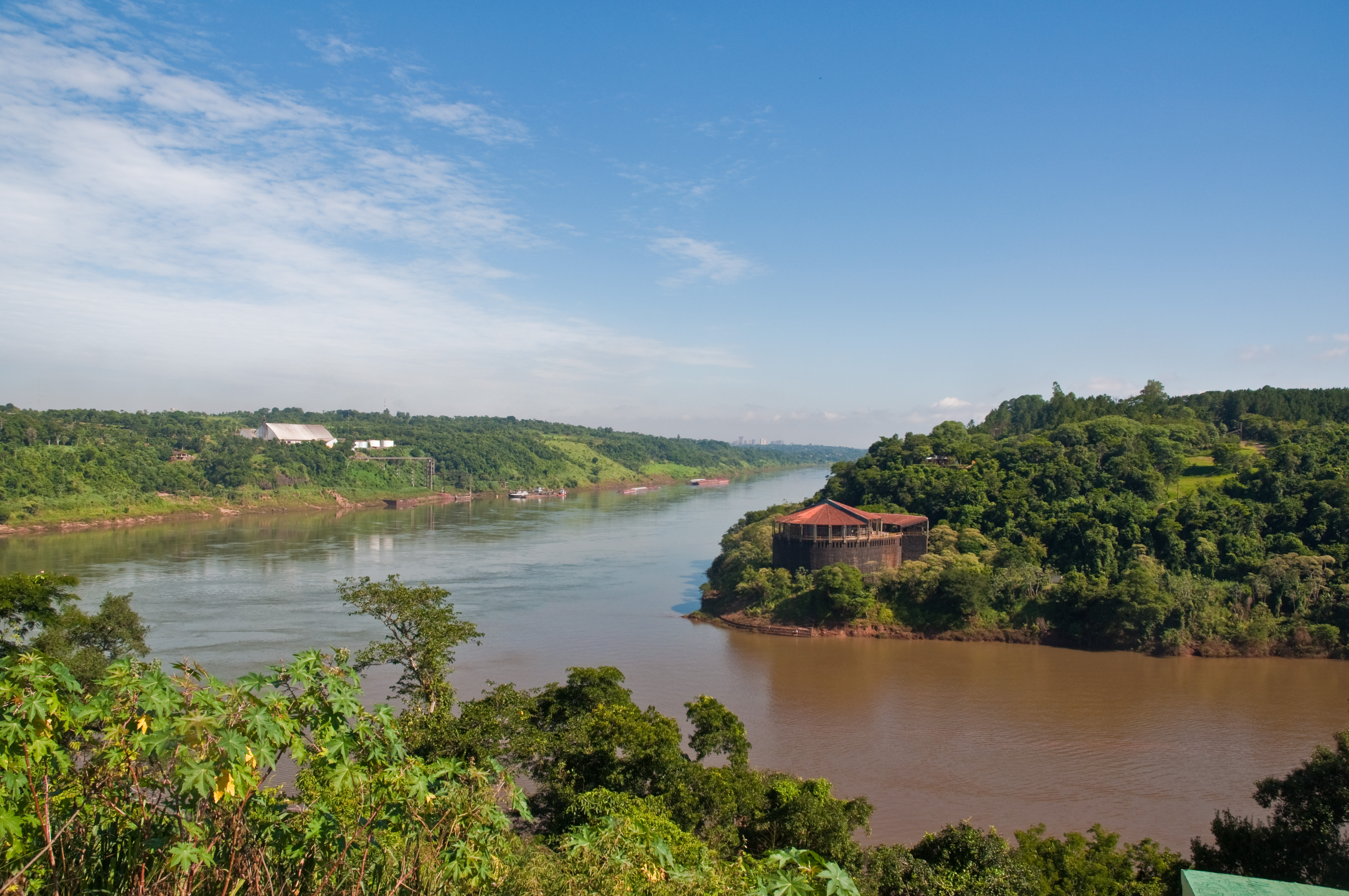 Parana Argentina  city photo : of the Iguazu and Parana rivers, Puerto Iguazu, Misiones, Argentina ...