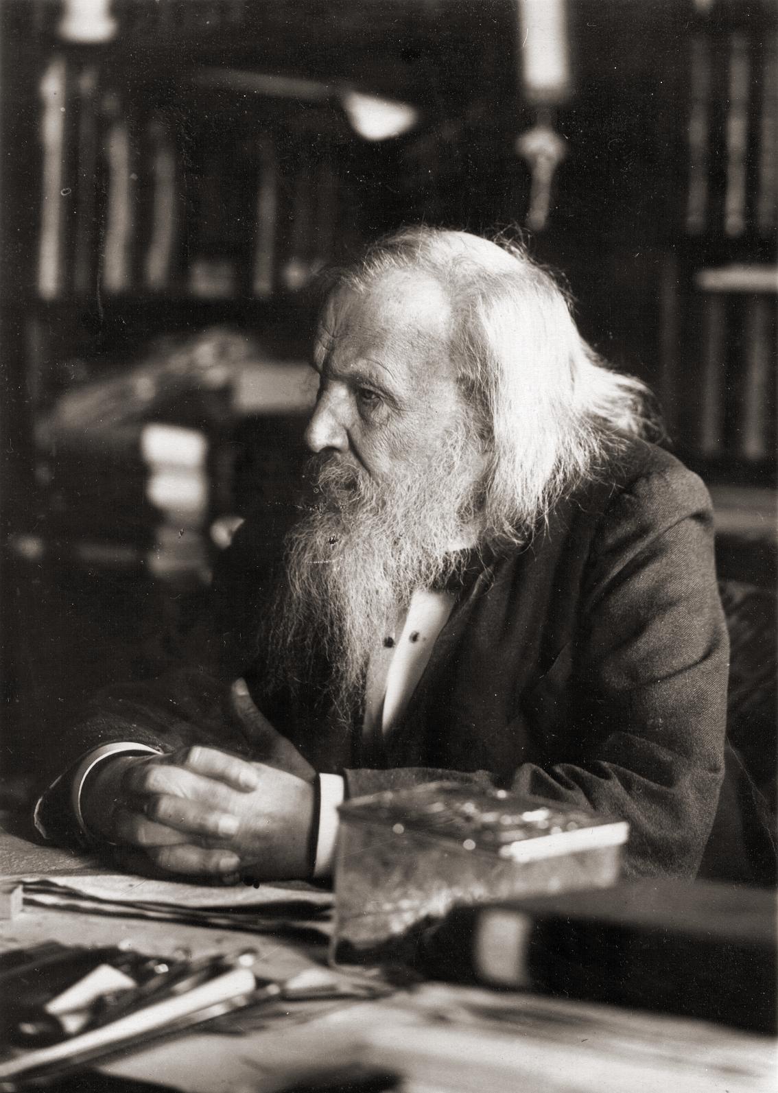 Tabelul periodic al elementelor - Dmitri Mendeleev