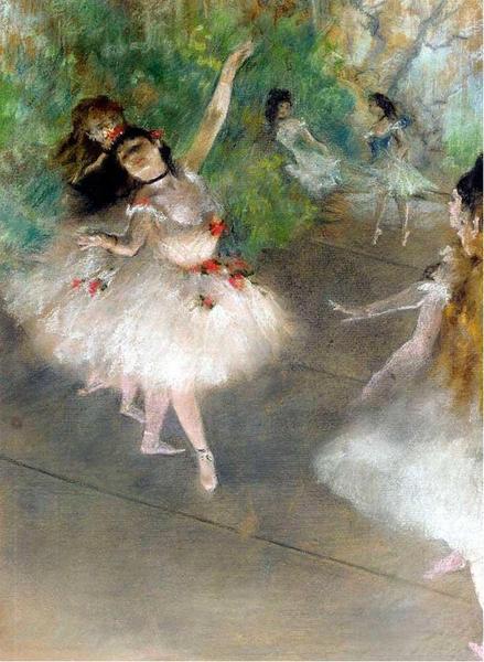 Edgar-Degas_-_Danseuses The Eighth Day