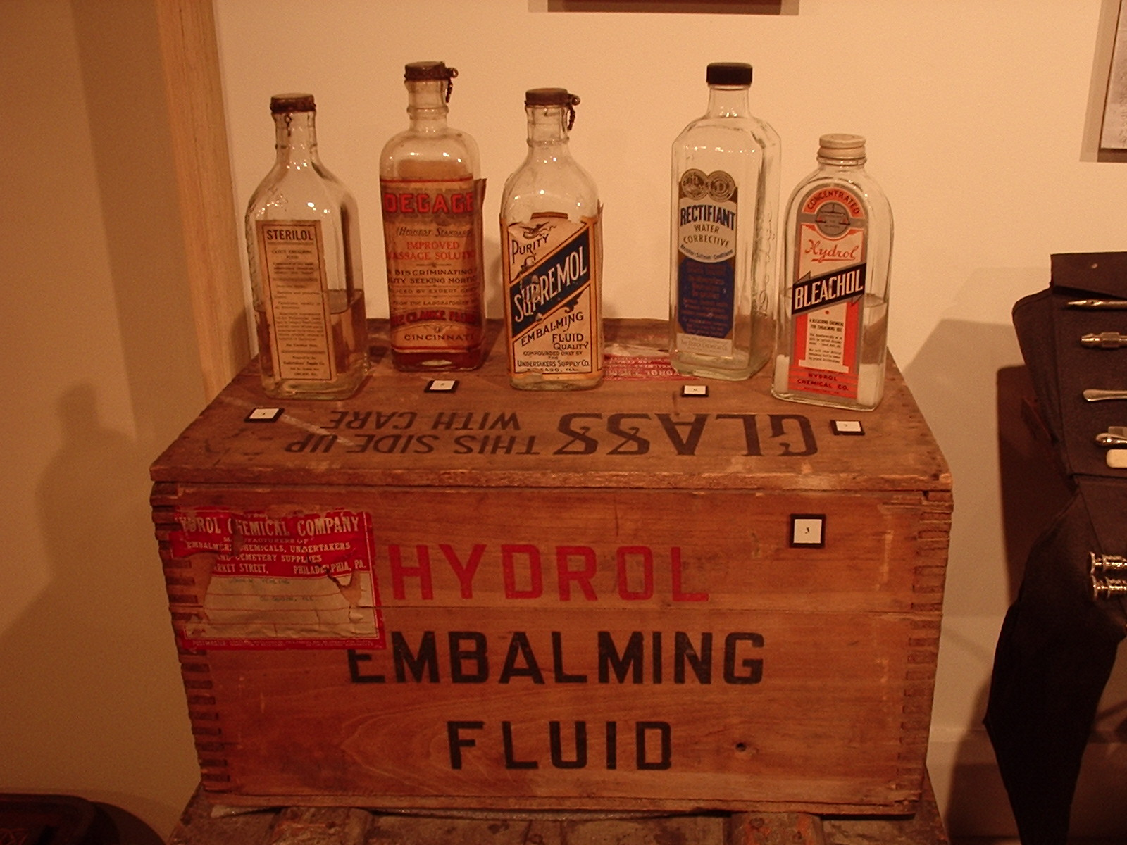 Embalming Chemicals Wikipedia