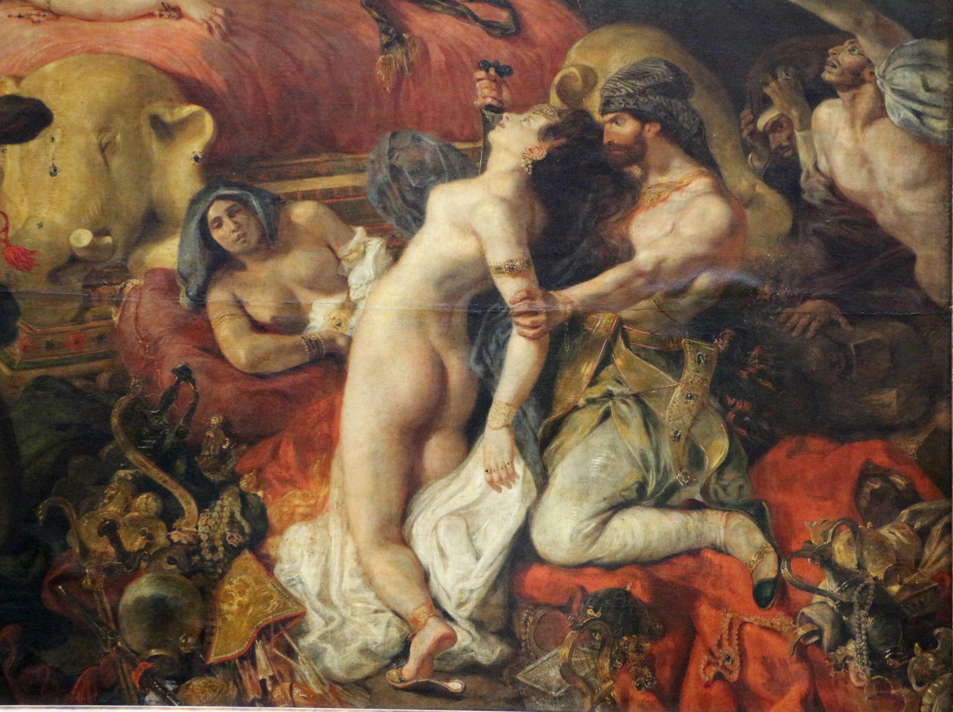 File:Eugène delacroix, la morte di sardanapalo, 1827, 10.jpg