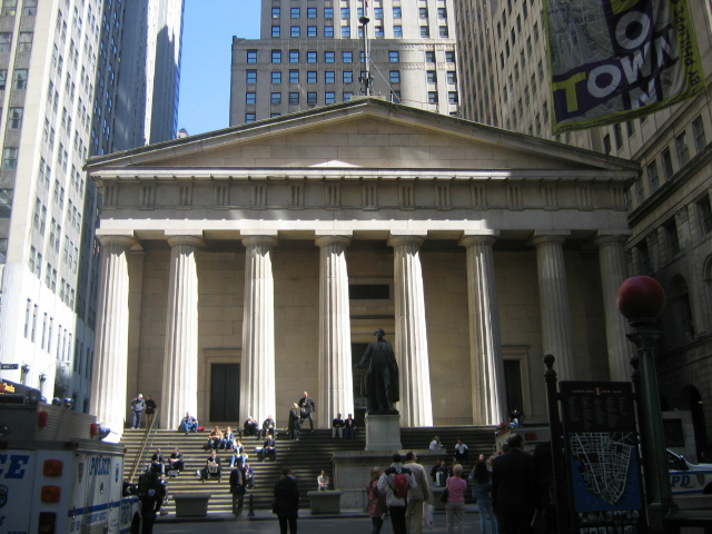 Federal Hall, NYC - Images From Wikimedia