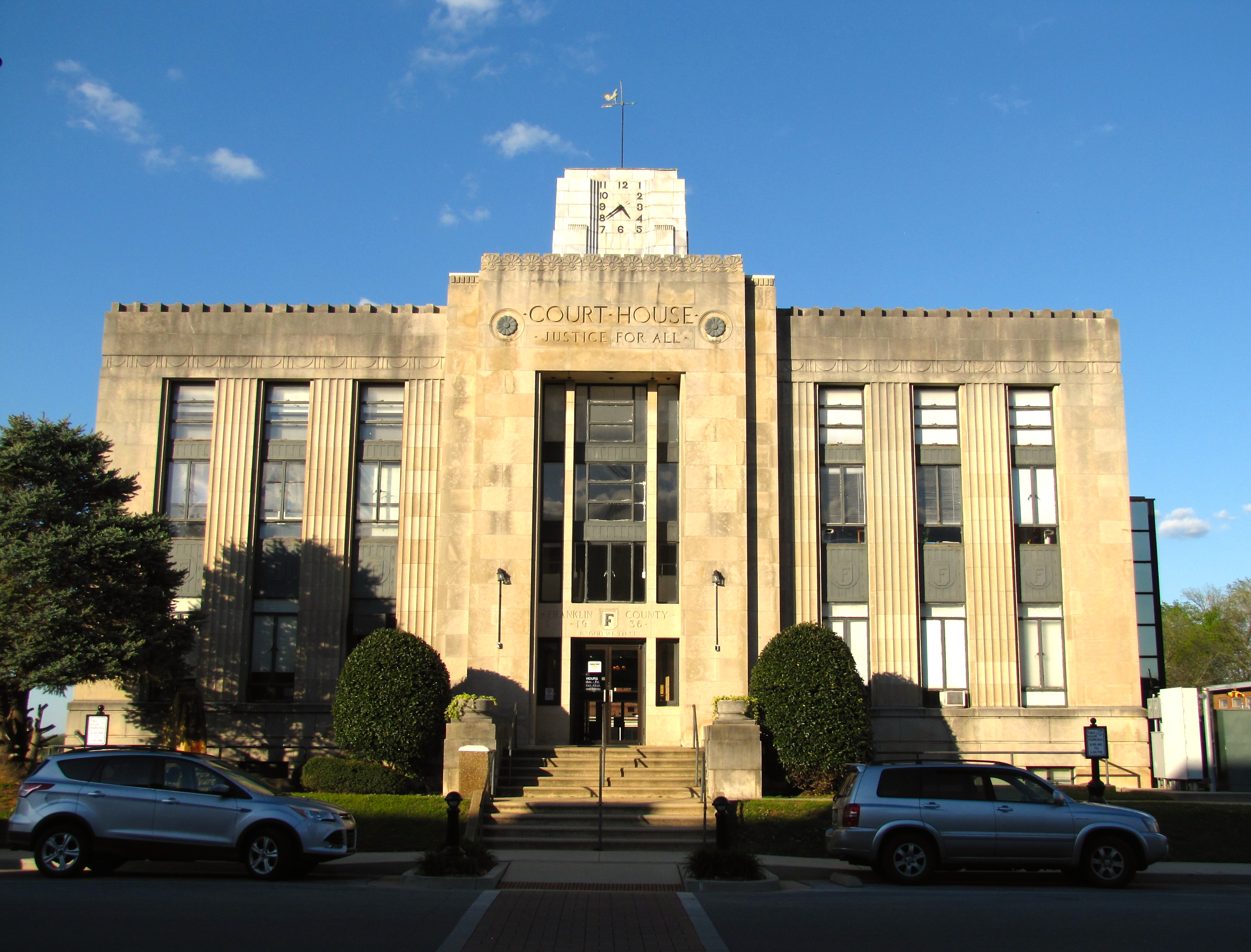 Franklin County Courthouse (Tennessee) - Wikipedia