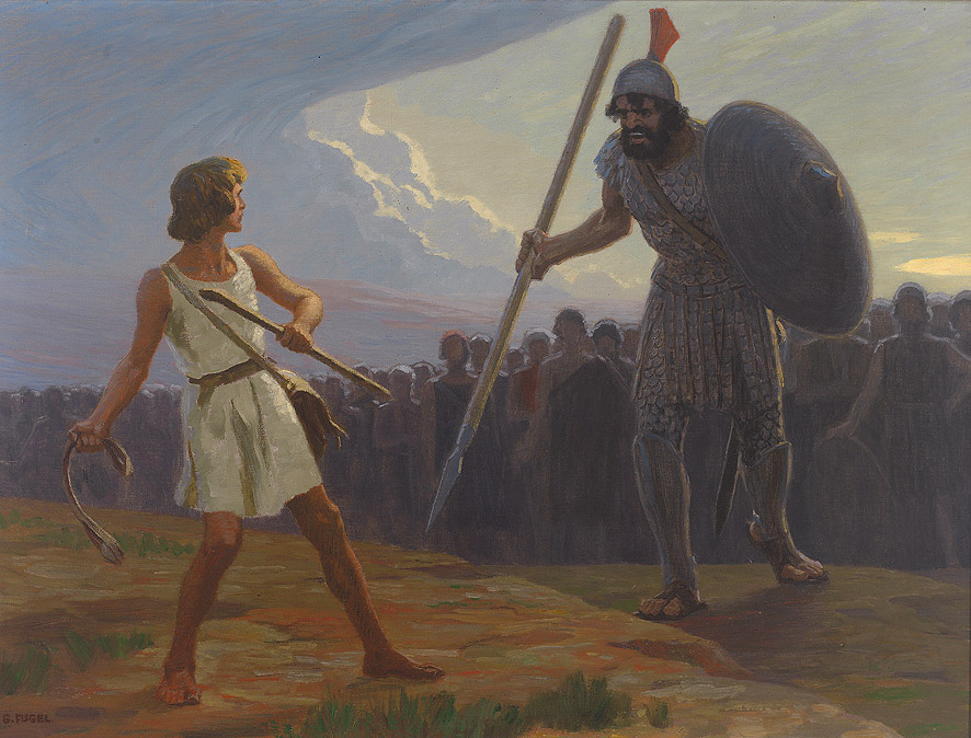 Facing Goliath (1 Samuel 17) – Growing Up, God, and Being Busy