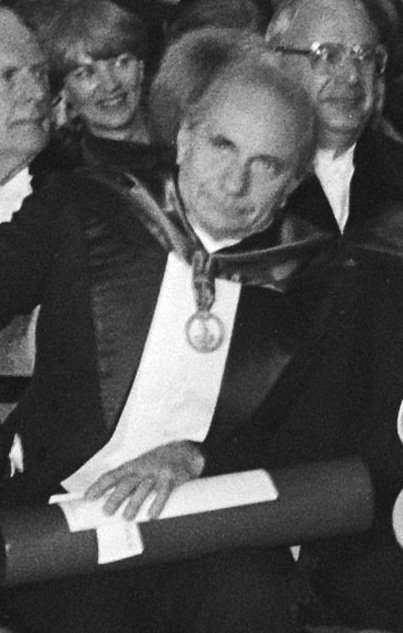 Georges Duby in 1980