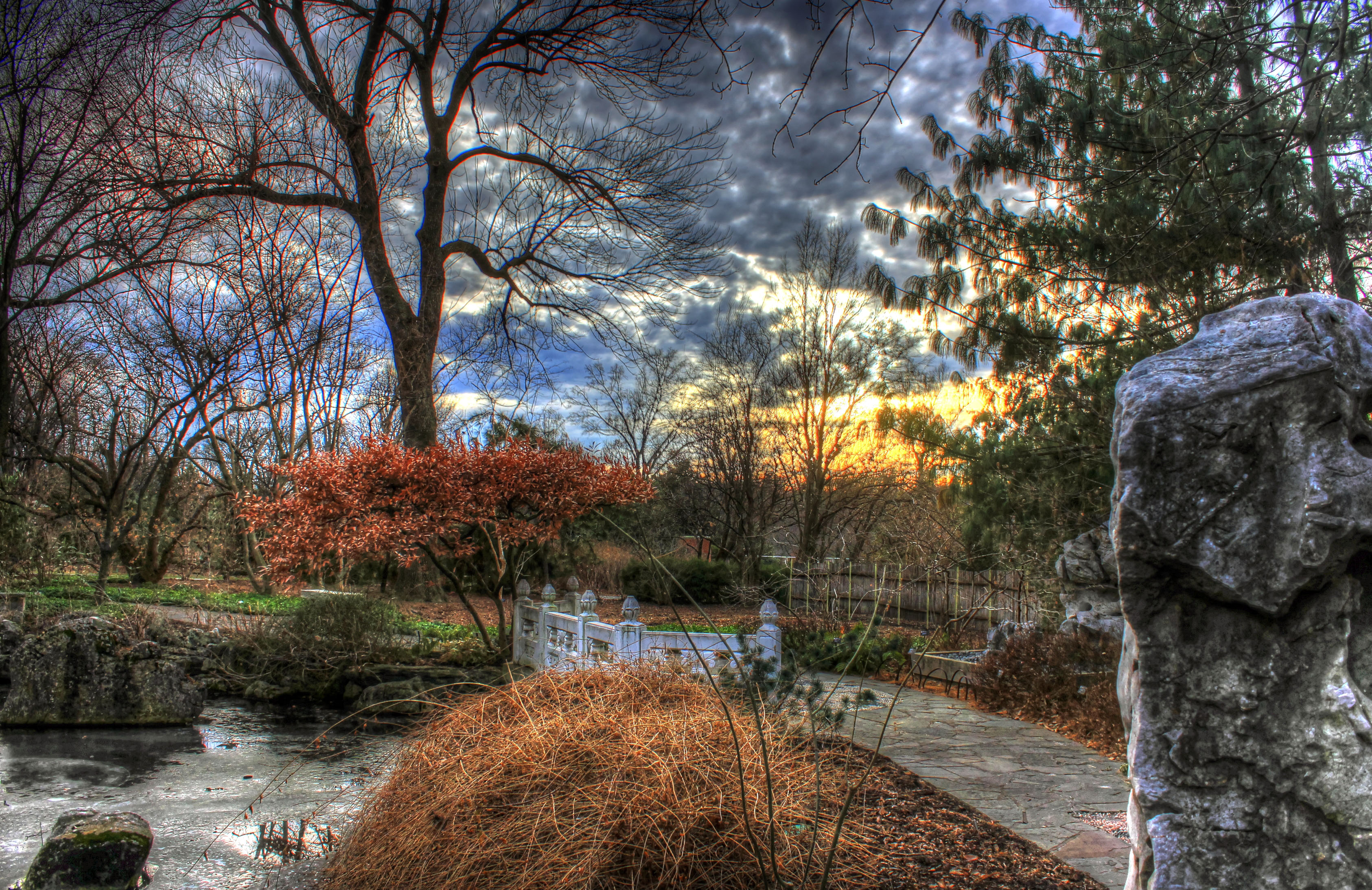 File Gfp Sunset In St Louis Botanical Gardens Jpg Wikimedia Commons