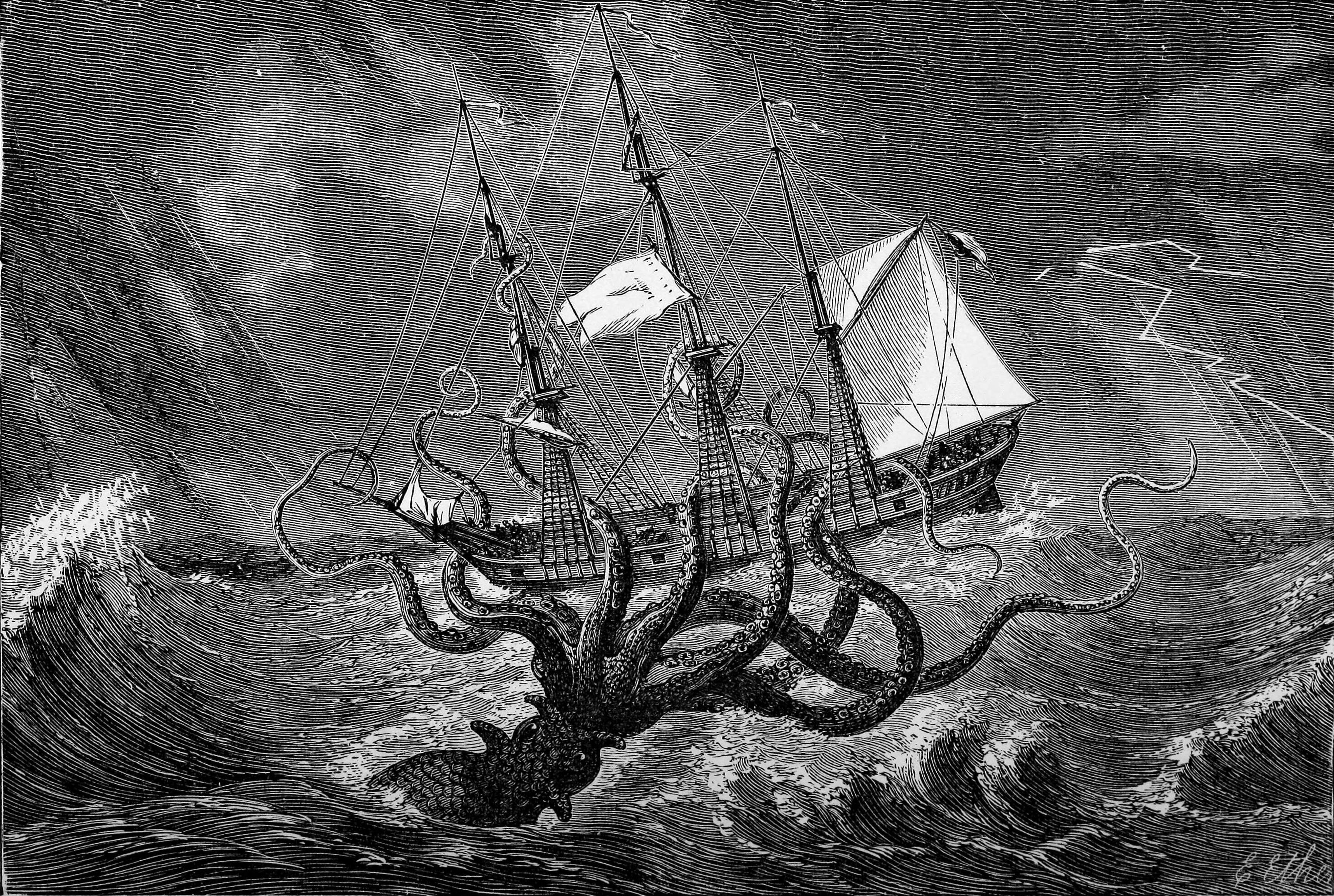 Información sobre los tubos Nixies Giant_octopus_attacks_ship