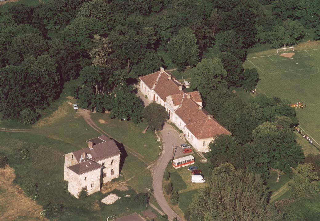 Aerialphotography of the Castles of Golop