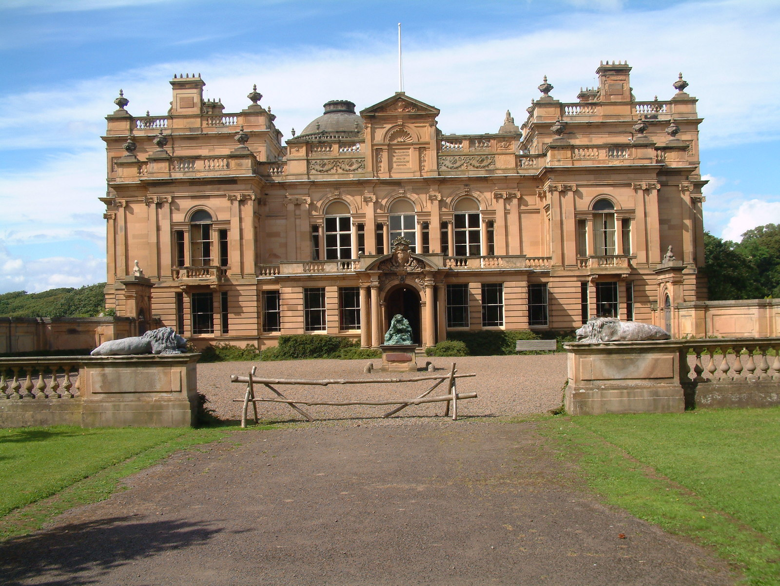 Gosford House on Neoclassical Home Designs