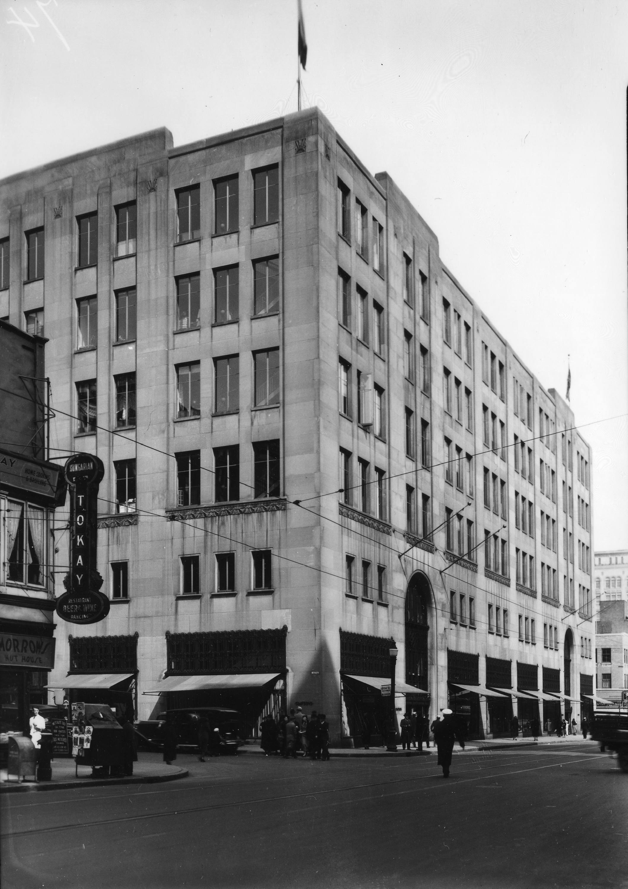 File grand magasin simpson s 977 rue sainte catherine ouest 30 mars wikimedia commons - Magasins rue sainte catherine ...