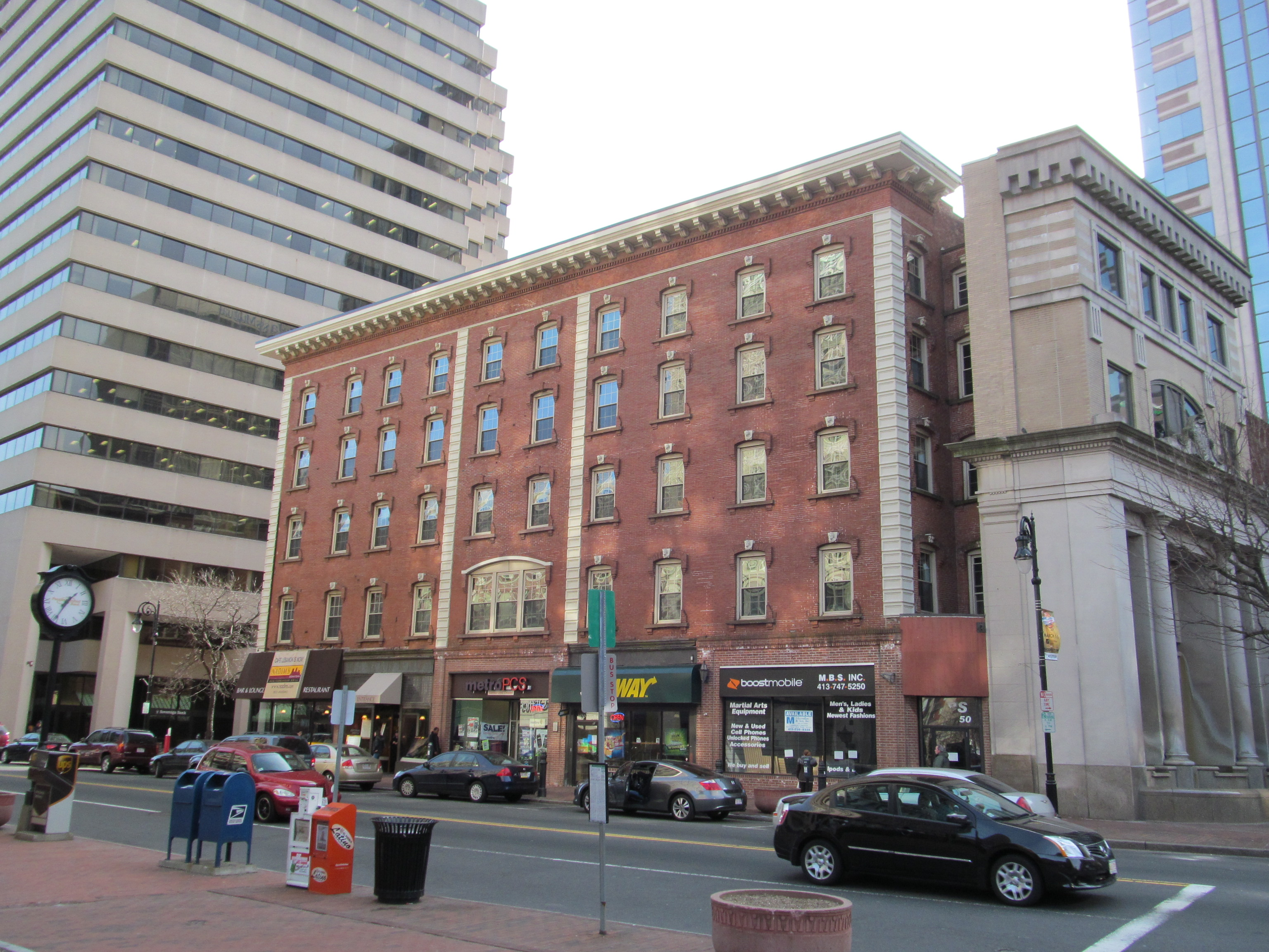 File Haynes Hotel Waters Building Springfield Ma Jpg