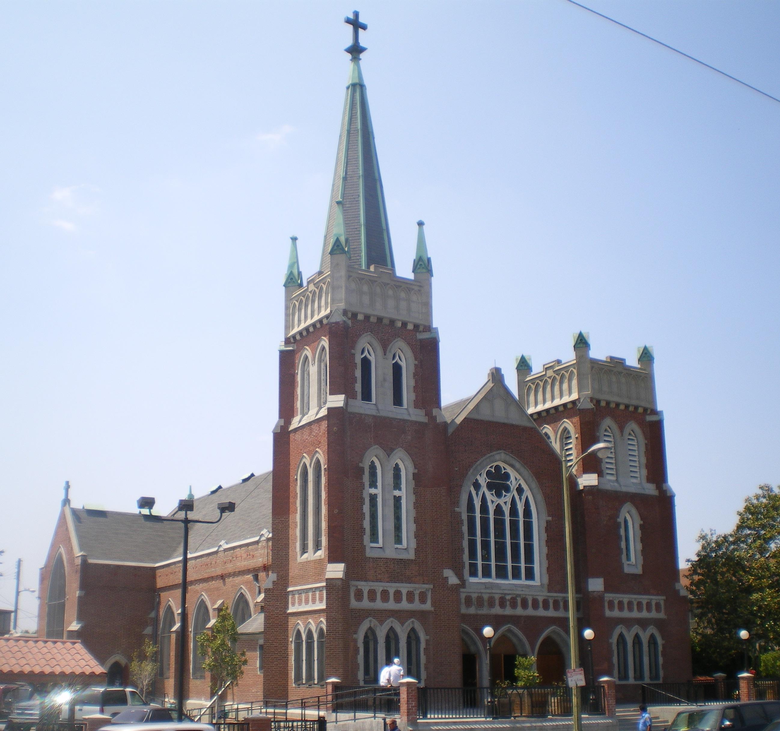 Messageofthecrosschurch Org: File:Holy Cross Catholic Church, Los Angeles.JPG