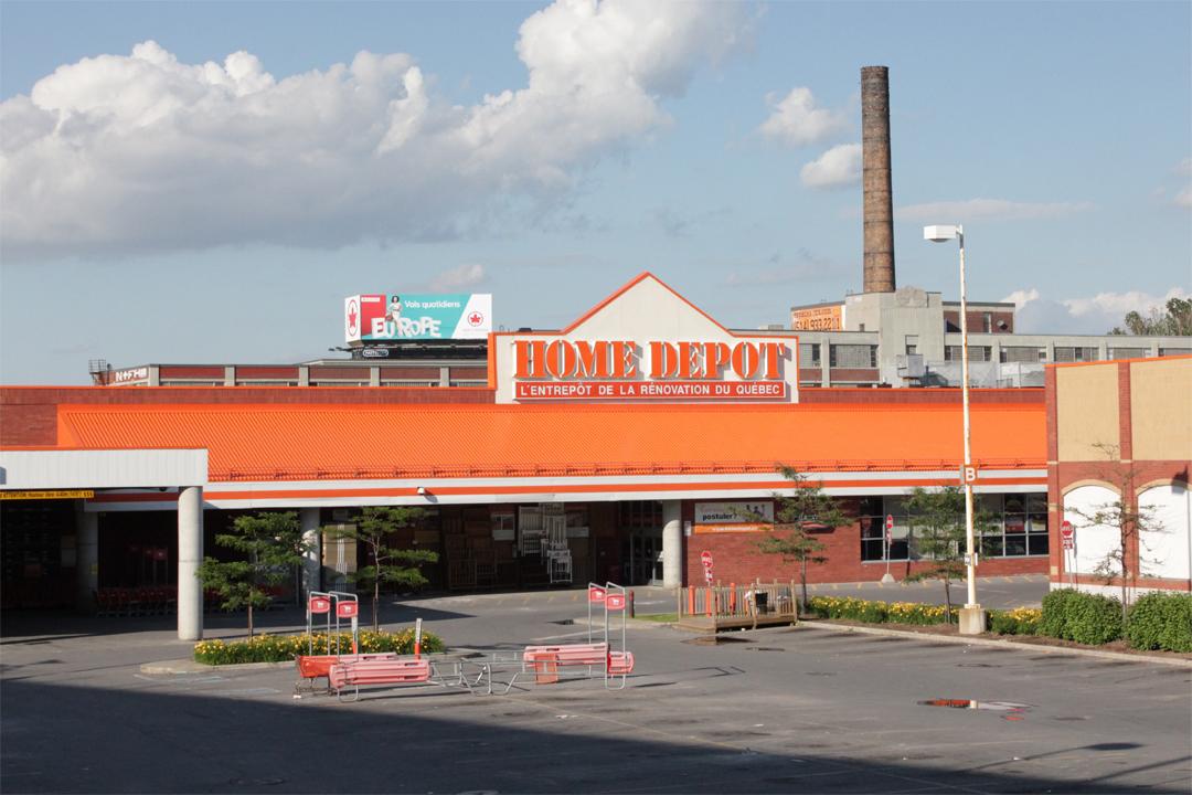 Home Depot New Range Installation