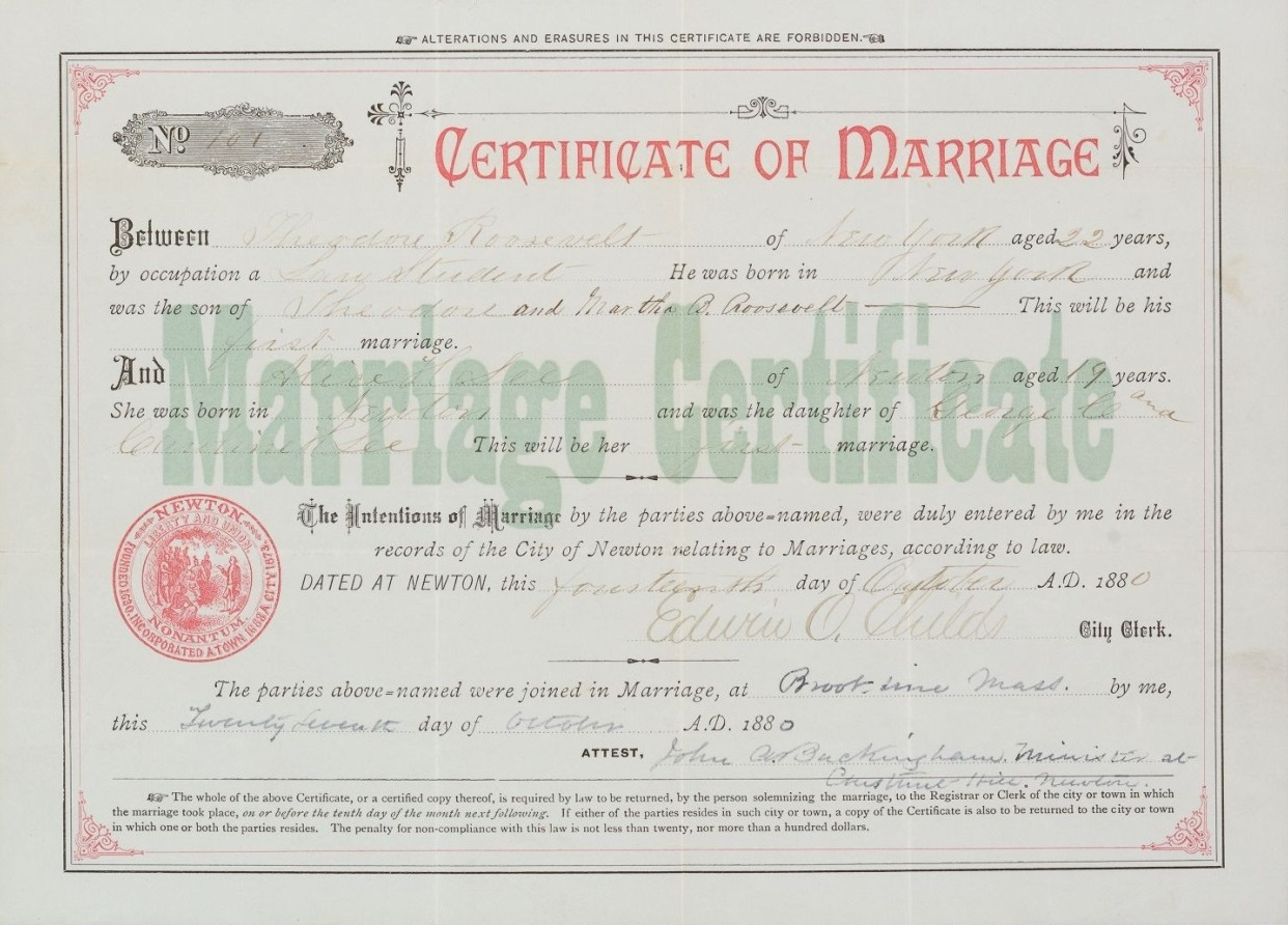 Filehoughton ms am 15419 119 roosevelt marriage certificate filehoughton ms am 15419 119 roosevelt marriage certificateg xflitez Gallery