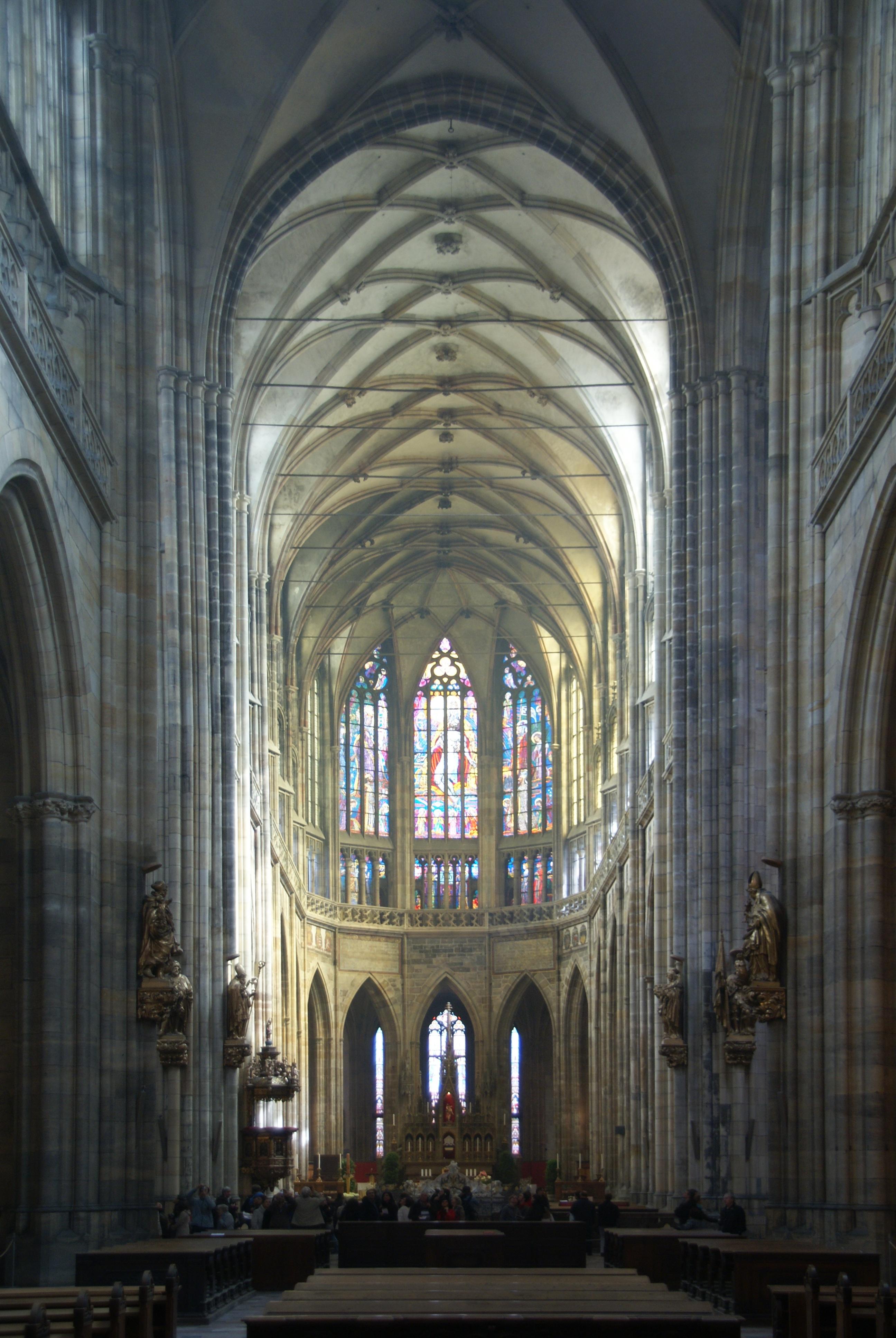File Interior Of St Vitus Cathedral Prague