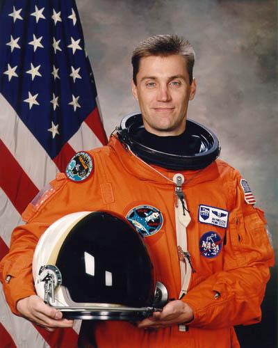 Astronaut Jim Pawelczyk, STS-90 payload specialist, NASA photo (20 October 1996)Source: Wikipedia (spaceflight.nasa.gov killed 25 Feb 2021) James_A_Pawelczyk.jpg