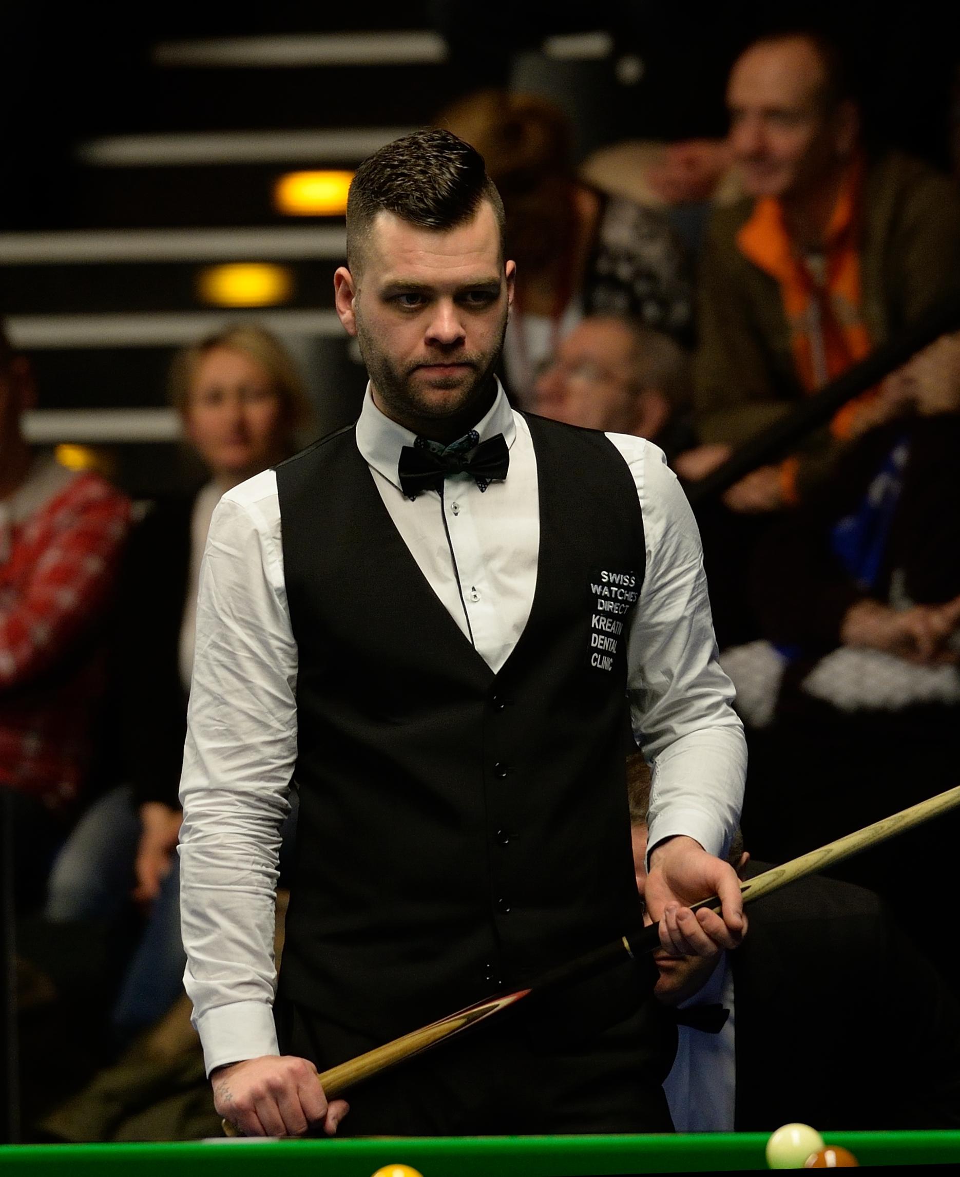 2012 2013 Season Opens With Sleeping: Jimmy Robertson (snooker Player)