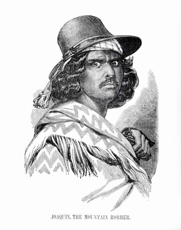 Pistoleros famosos del Viejo Oeste JoaquinTheMountainRobber