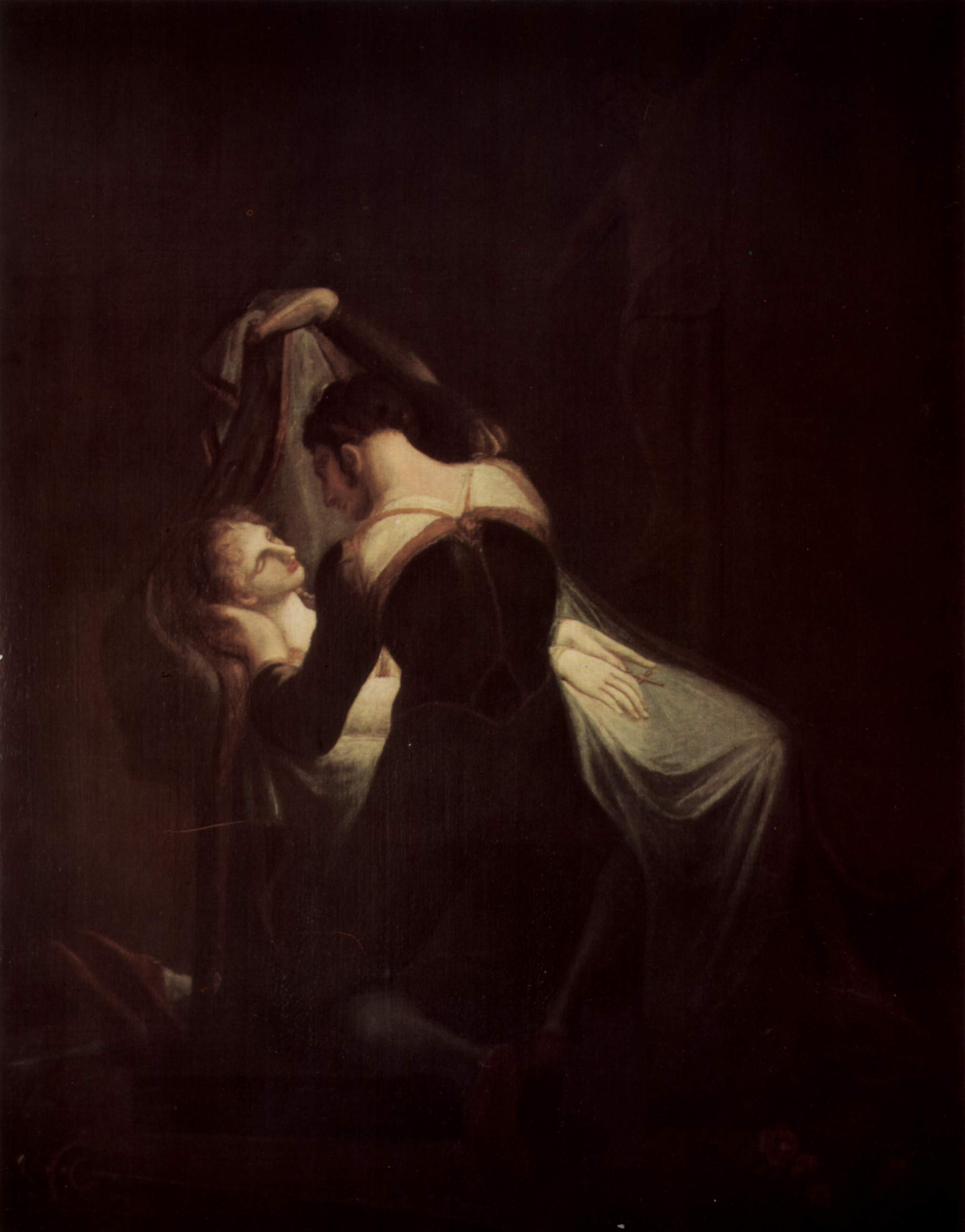 K Julia Oil Painting