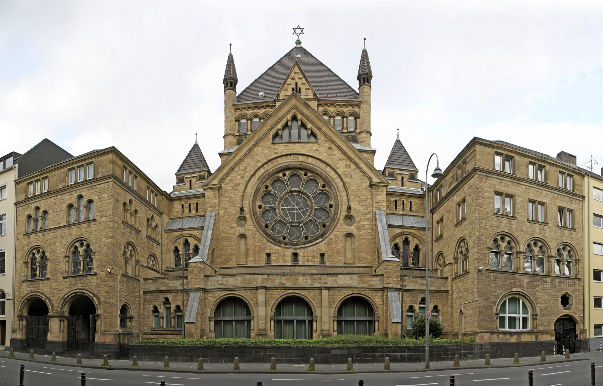 Kölner Synagoge in der Roonstraße, Oktober 2006