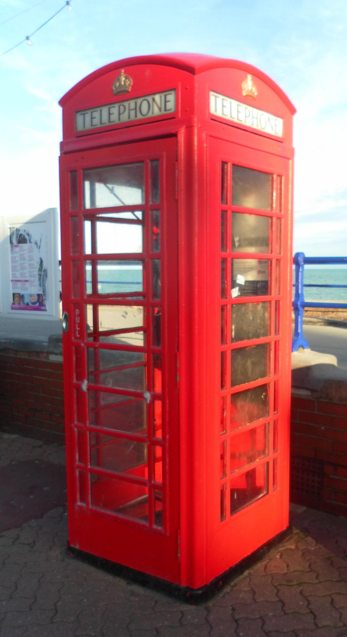 File K6 Telephone Kiosk At Marine Parade  Eastbourne  Nhle