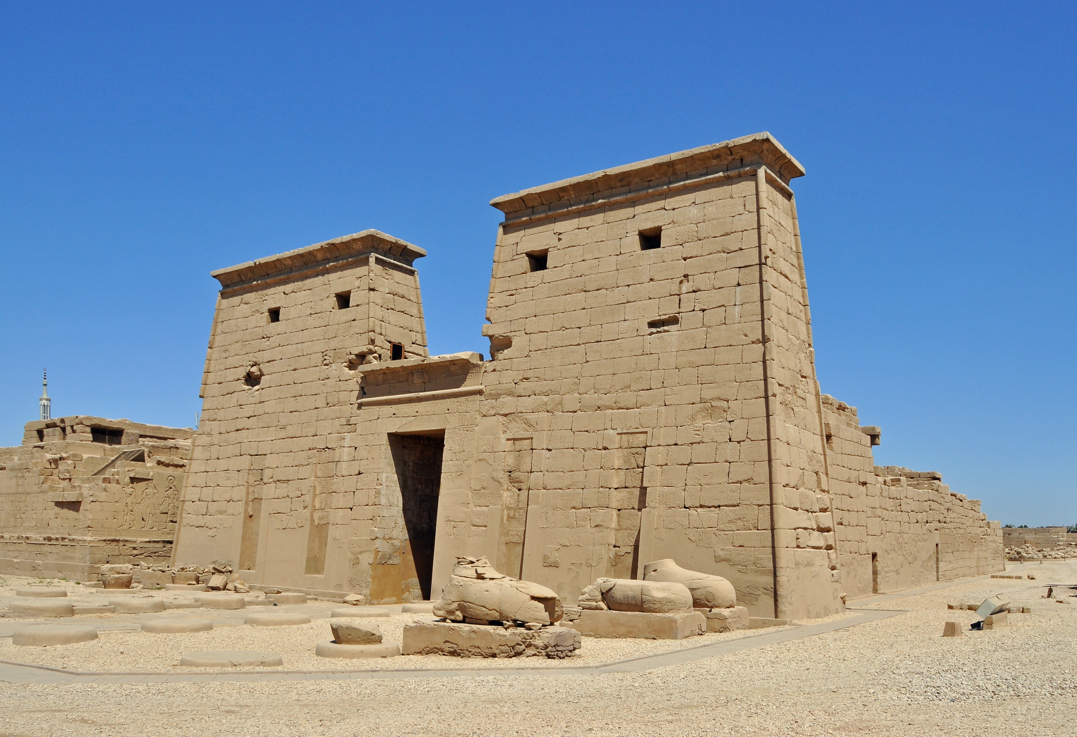 Karnak Khonsu Temple Amun Wikipedia