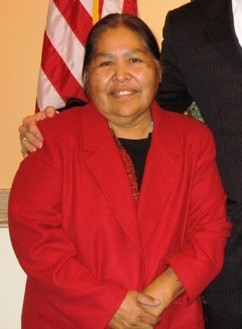 Kathy Kitcheyan, Chairwoman of the San Carlos Apache Kathy Kitcheyan.jpg
