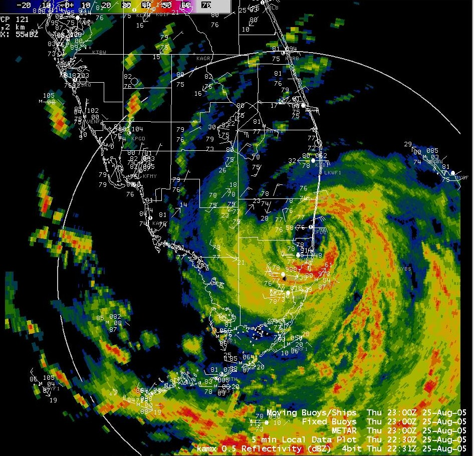 Effects Of Hurricane Katrina In Florida Wikipedia