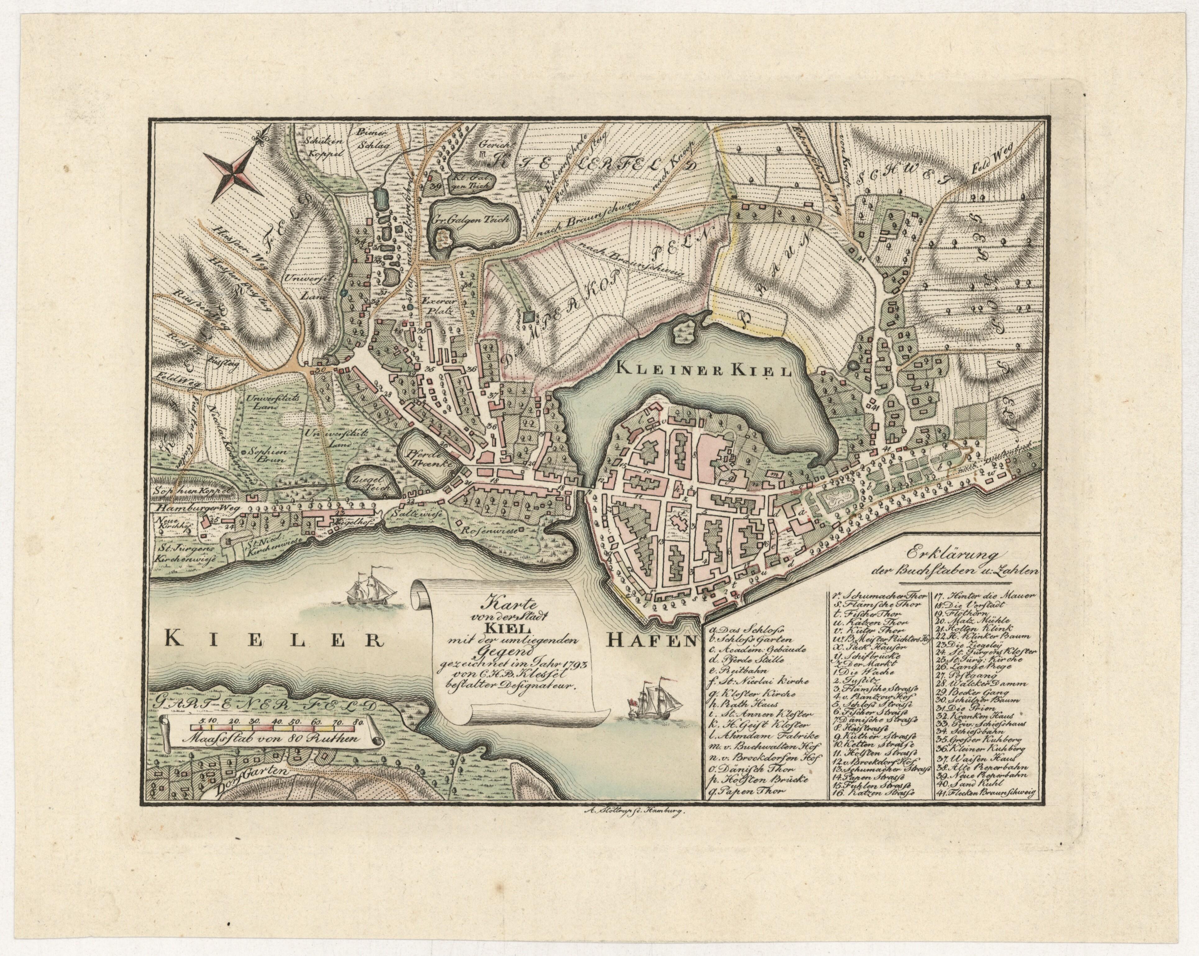 File Klessel Sche Karte 1793 Dk008101 Jpg Wikimedia Commons