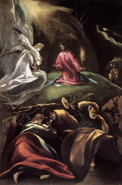 el greco, oracion huerto, santa maria la mayor andujar