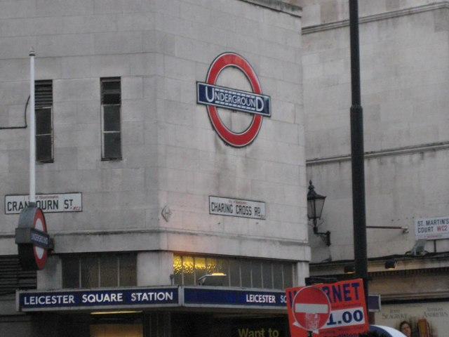 Leicester Square station (Northern Line), WC2 - geograph.org.uk - 867385