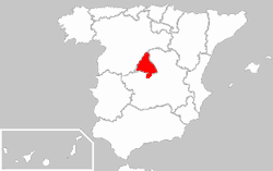 Region Madrid
