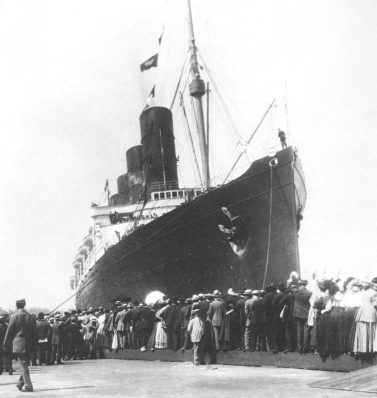 last voyage of the lusitania