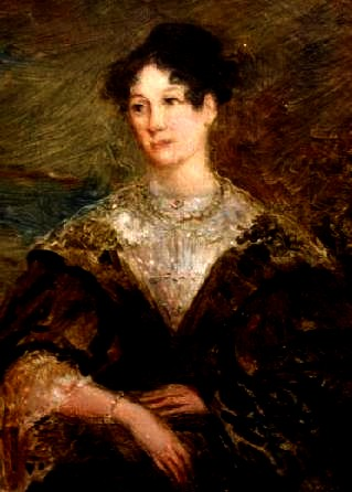 Mary Storer Potter became Longfellow's first wife in 1831 and died four years later.