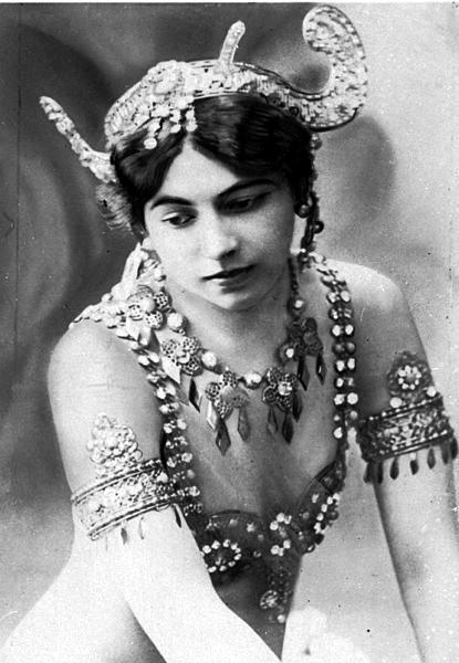 Mata Hari, en 1910.