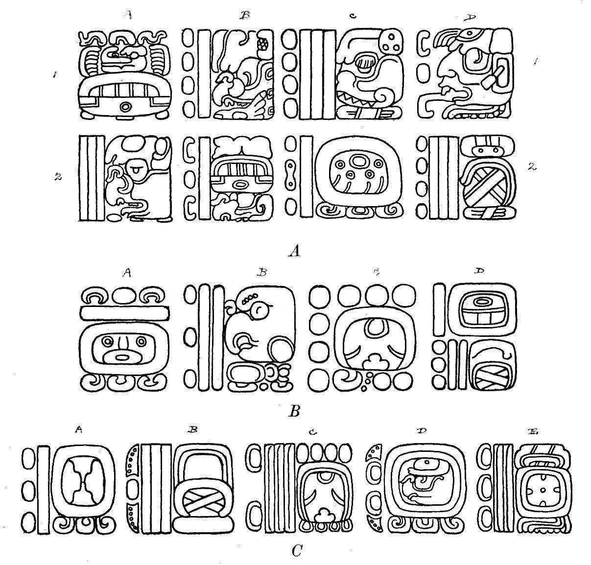 Mayan Hieroglyphics File:maya hieroglyphs fig 84.