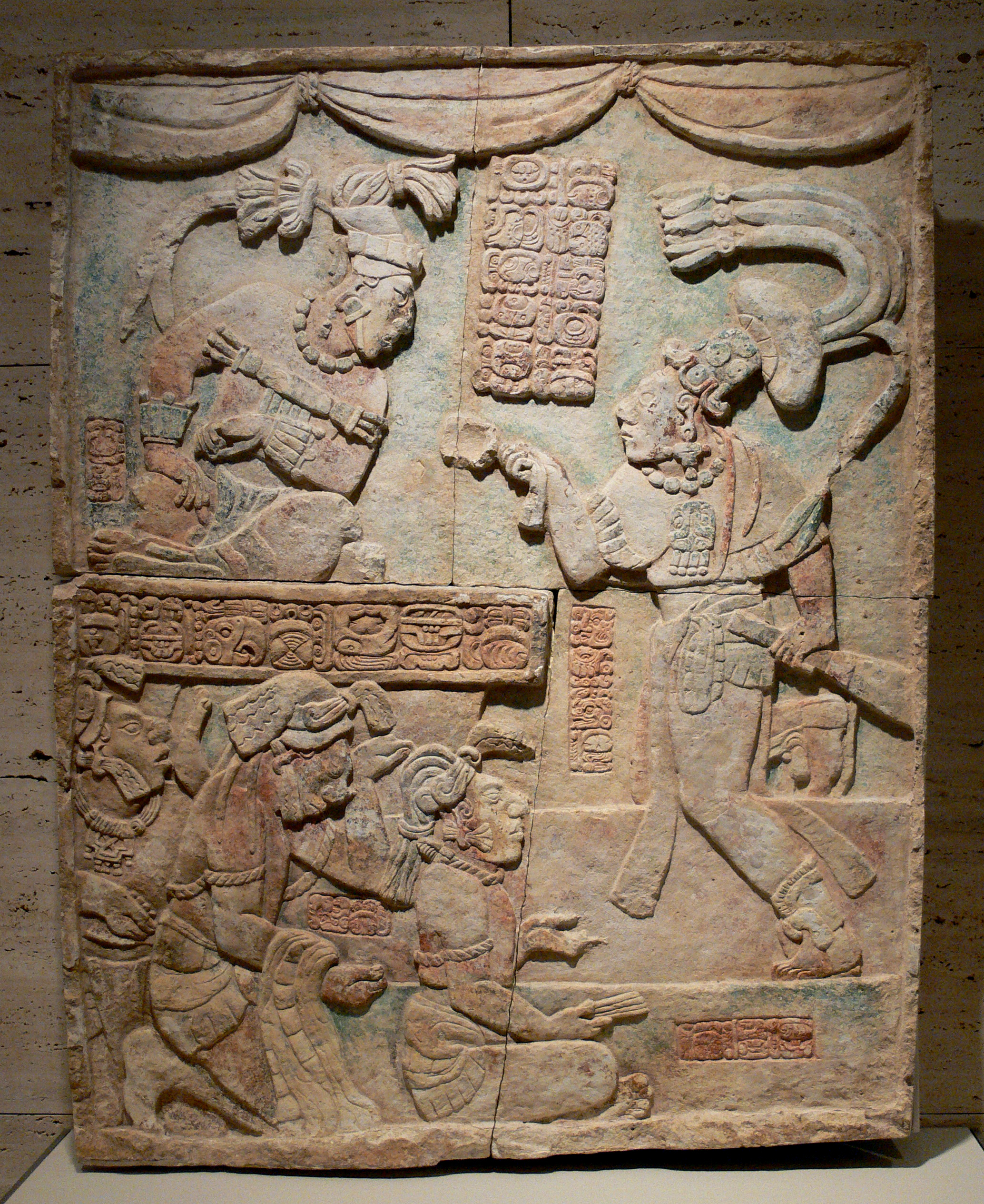 PresentationofCaptivesKimbelljpg Maya civilization