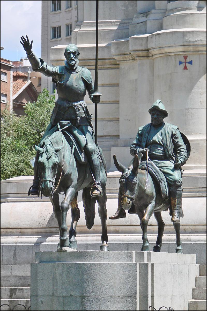 File:Monumento a Cervantes (Madrid) 10o.jpg - Wikimedia Commons