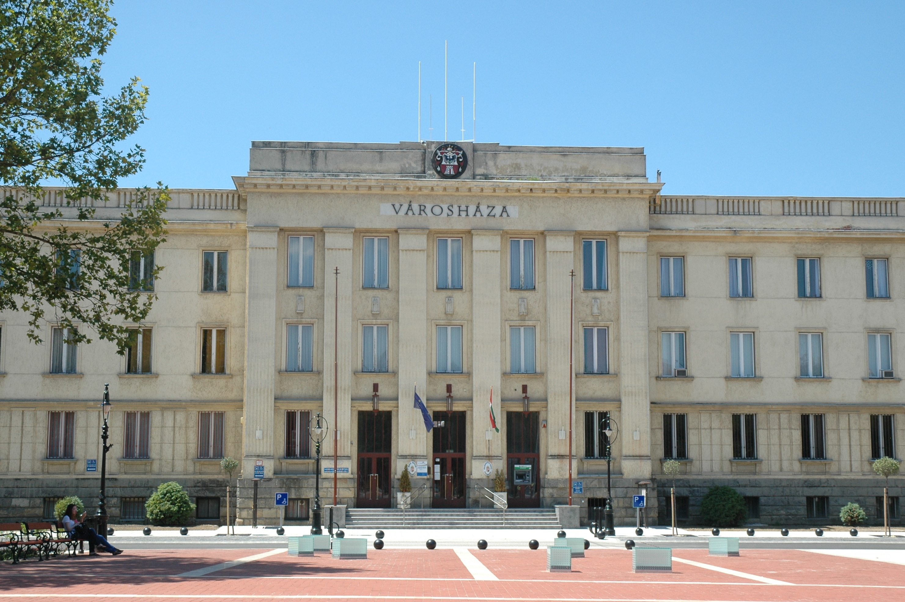 Nagykanizsa Hungary  City new picture : Description Nagykanizsa City Hall 2012 1