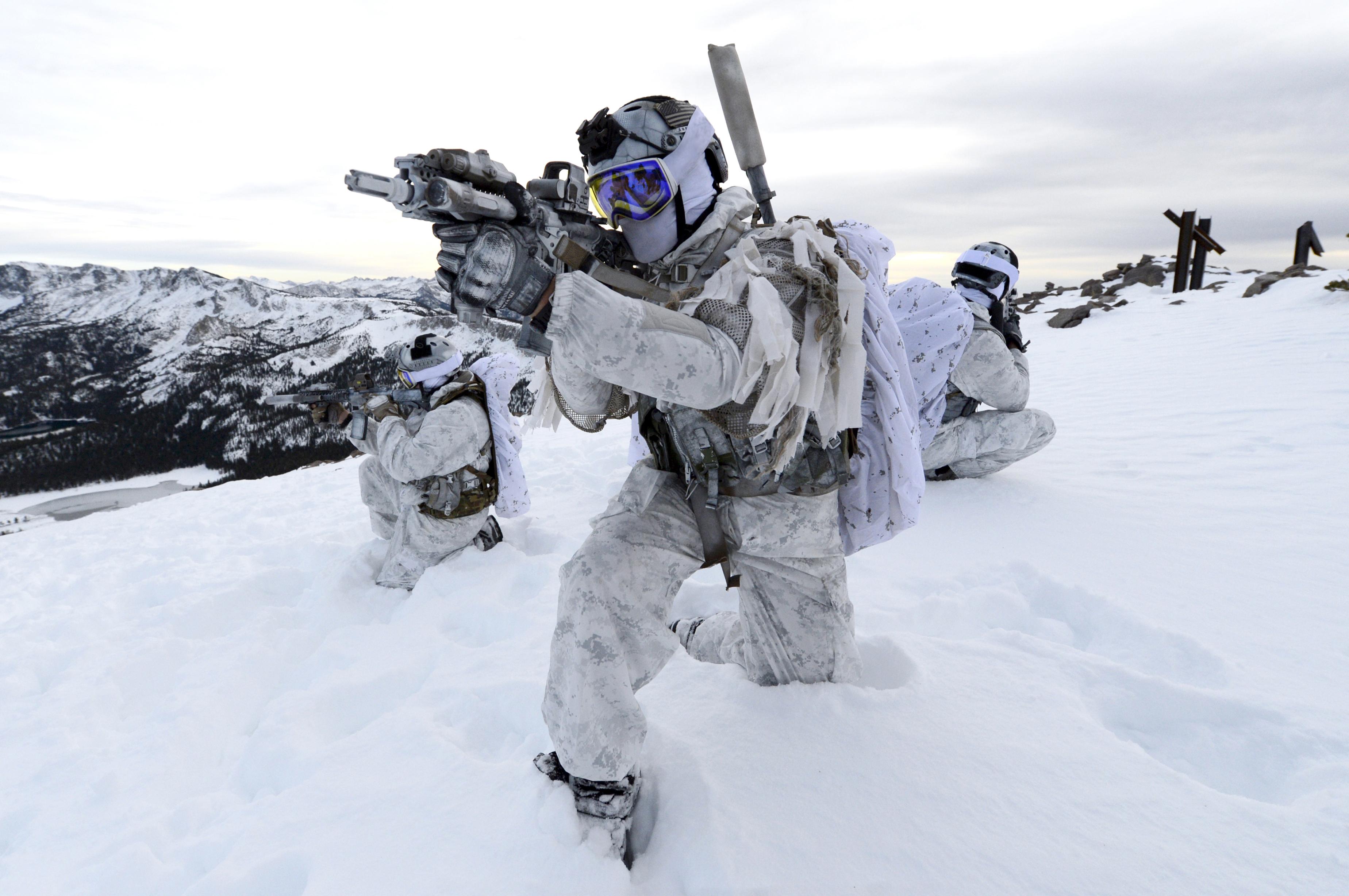 Cold-weather warfare - Wikipedia