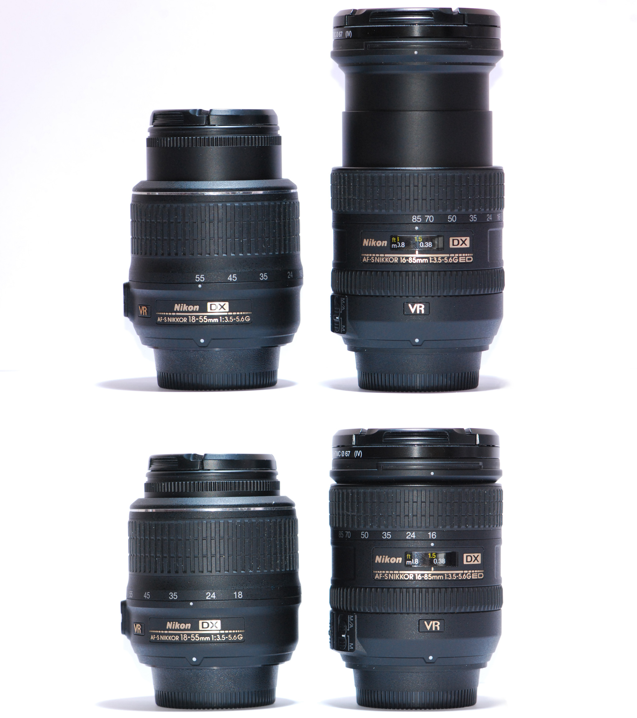 wiki List of Sigma lenses with Nikon F mount and integrated autofocus motor